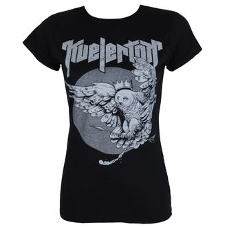 t-shirt metal women's Kvelertak - Owl King Silver - KINGS ROAD, KINGS ROAD, Kvelertak