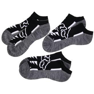 socks ankle FOX - Perf No Show - Black, FOX