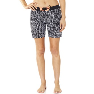 swimsuits women (shorts) FOX - Chargin - Black / White, FOX