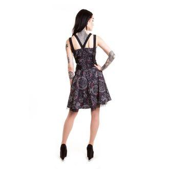 Dress women's HEARTLESS - MYSTIC GALAXY - BLACK, HEARTLESS