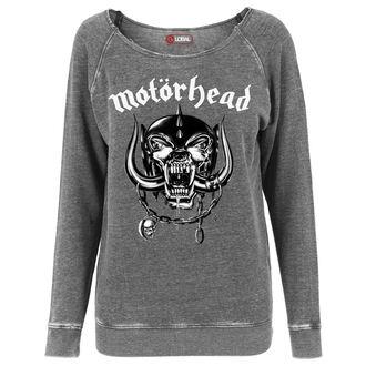 sweatshirt (no hood) women's Motörhead - Logo Burnout Open Edge - - MC002