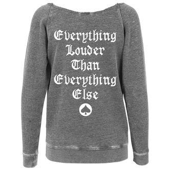 sweatshirt (no hood) women's Motörhead - Logo Burnout Open Edge - NNM - MC002