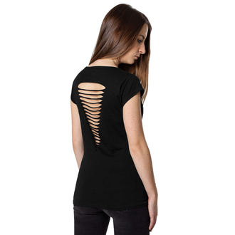 t-shirt metal women's Motörhead - Logo Cutted Back - URBAN CLASSICS, URBAN CLASSICS, Motörhead