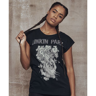 t-shirt metal women's Linkin Park - Eye Guts - URBAN CLASSICS, URBAN CLASSICS, Linkin Park