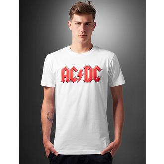 t-shirt metal men's AC-DC - Logo - URBAN CLASSICS, URBAN CLASSICS, AC-DC