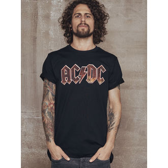 t-shirt metal men's AC-DC - Voltage - URBAN CLASSICS, URBAN CLASSICS, AC-DC