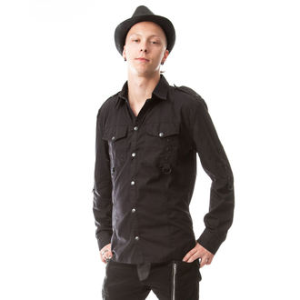 shirt men Vixxsin - TORN - BLACK
