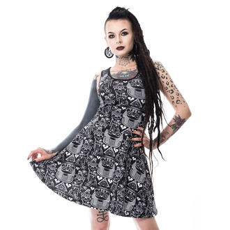 Dress women's Killer panda - EGYPT - BLACK, KILLER PANDA