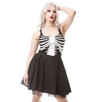 Dress women's VIXXSIN - GHOST TOWN - BLACK - POI328