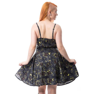 Dress women's CUPCAKE CULT - MOON FOX - BLACK, CUPCAKE CULT