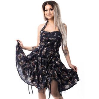 Dress women's CUPCAKE CULT - VOODOO DRAGON - BLACK, CUPCAKE CULT
