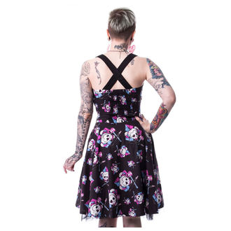 Dress women's SUICIDE SQUAD - HARLEY SQUAD - BLACK