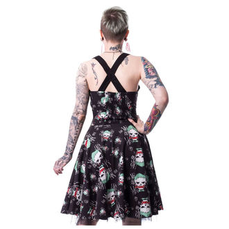 Dress women's SUICIDE SQUAD - JOKER HAHA - BLACK