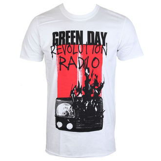 t-shirt metal men's Green Day - RADIO COMBUSTION - PLASTIC HEAD, PLASTIC HEAD, Green Day