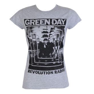 Metal T-Shirt women's Green Day - POWER SHOT - PLASTIC HEAD - PH10259G