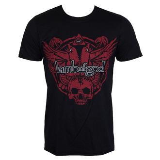 t-shirt metal men's Lamb of God - SNAKE AND EAGLE - PLASTIC HEAD, PLASTIC HEAD, Lamb of God