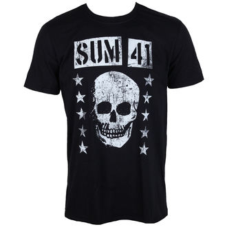 t-shirt metal men's Sum 41 - GRINNING SKULL - PLASTIC HEAD, PLASTIC HEAD, Sum 41