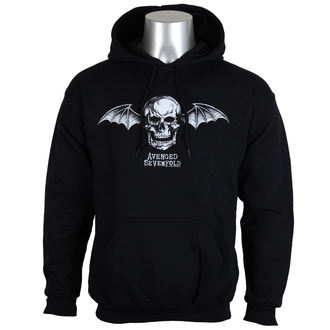 hoodie men's Avenged Sevenfold - DEATH BAT LOGO - PLASTIC HEAD, PLASTIC HEAD, Avenged Sevenfold