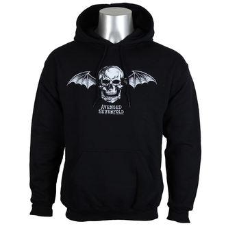 hoodie men's Avenged Sevenfold - DEATH BAT LOGO - PLASTIC HEAD