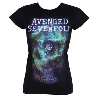t-shirt metal women's Avenged Sevenfold - SPACE FACE - PLASTIC HEAD, PLASTIC HEAD, Avenged Sevenfold