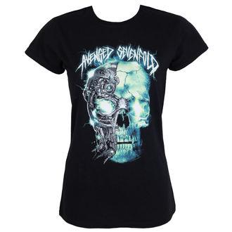 t-shirt metal women's Avenged Sevenfold - TURBO SKULL - PLASTIC HEAD - RTAVS011
