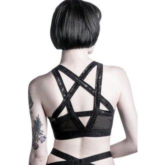 sports bra women's KILLSTAR - Curse Tina - Black, KILLSTAR