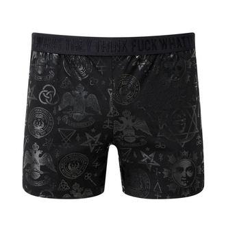 Boxer shorts men's KILLSTAR - Aiden - Black - K-UND-M-2368