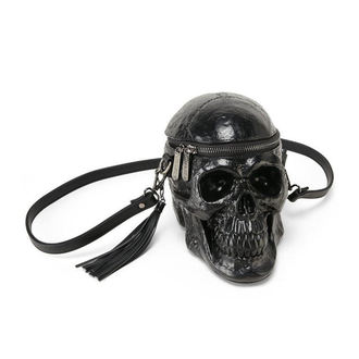 Bag (handbag) KILLSTAR - Grave Digger Skull - Black -