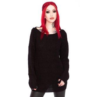 Sweater women's KILLSTAR - Sinthya Knit - Black - K-KNT-F-2342
