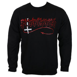 sweatshirt (no hood) men's Possessed - Logo - MASSACRE RECORDS, MASSACRE RECORDS, Possessed