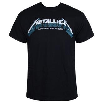 t-shirt metal men's Metallica - Master of Puppets Blue Poster -, Metallica