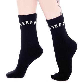 Socks KILLSTAR - Tired - Black, KILLSTAR