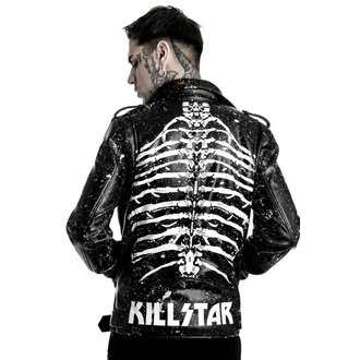 leather jacket - Morgue Master - KILLSTAR - K-JKT-M-2135