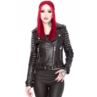 leather jacket women's - Baphomet - KILLSTAR, KILLSTAR