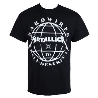 t-shirt metal men's Metallica - Hardwired Domination -, Metallica