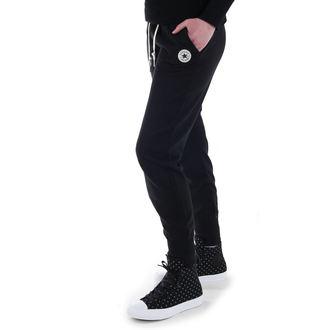 pants women (trackpants) CONVERSE - CORE SIGNATURE FT - Black - 10003140-A01