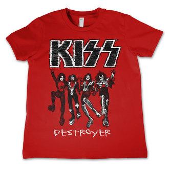 t-shirt metal men's children's Kiss - Destroyer - HYBRIS, HYBRIS, Kiss