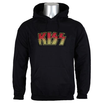 hoodie men's Kiss - Distressed Logotype Big & Tall - HYBRIS, HYBRIS, Kiss