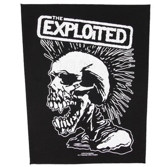 patch THE EXPLOITED - VINTAGE SKULL - RAZAMATAZ, RAZAMATAZ, Exploited