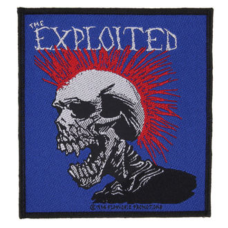patch THE EXPLOITED - MOHICAN MULTICOLOUR - RAZAMATAZ, RAZAMATAZ, Exploited