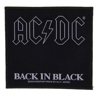 patch AC / DC - BACK IN BLACK - RAZAMATAZ - SP1512
