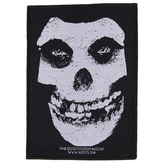 patch MISFITS - WHITE SKULL - RAZAMATAZ - SP1640