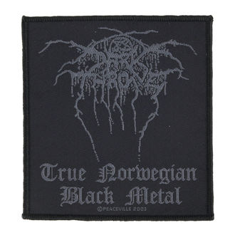 patch DARKTHRONE - TRUE NORWEGIAN BLACK METAL - RAZAMATAZ - SP1714