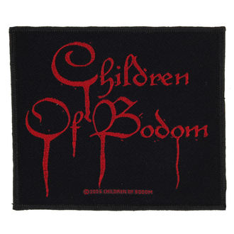 patch CHILDREN OF BODOM - BLOOD LOGO - RAZAMATAZ - SP2015