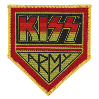 patch KISS - KISS ARMY BADGE - RAZAMATAZ, RAZAMATAZ, Kiss