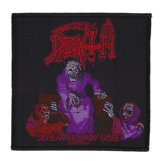 patch DEATH - SCREAM BLOODY GORE - RAZAMATAZ - SP2352