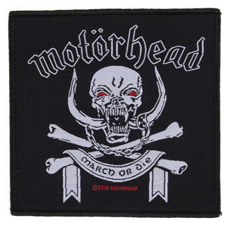 patch Motörhead - March ör Die - RAZAMATAZ - SP2448