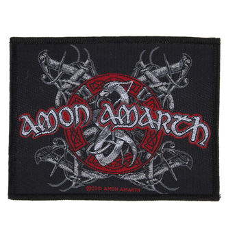 patch AMON AMARTH - VIKING DOG - RAZAMATAZ, RAZAMATAZ, Amon Amarth