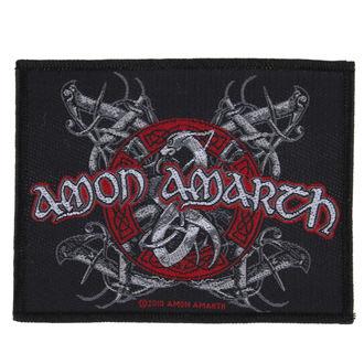 patch AMON AMARTH - VIKING DOG - RAZAMATAZ, RAZAMATAZ, Amon Amarth
