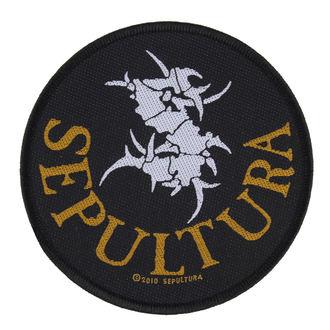 patch SEPULTURA - CIRCULAR LOGO - RAZAMATAZ - SP2470